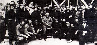 Группа заключенных участвовавших в создании И-5