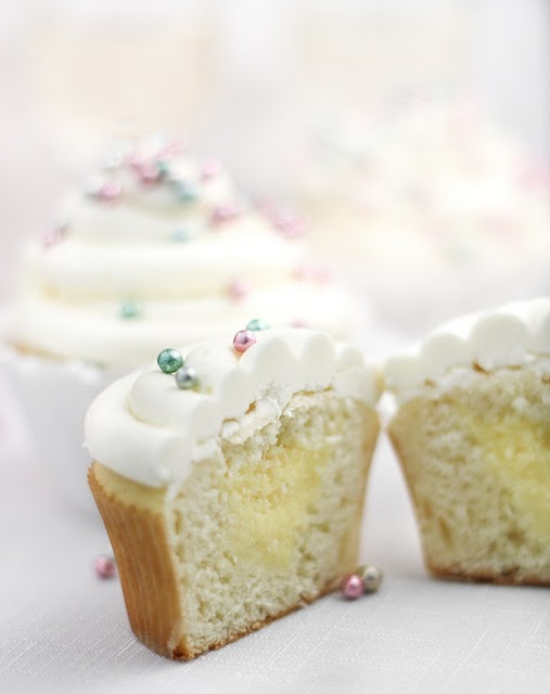 Throwing a Shower? Sparkling Champagne Cupcakes Will Make You A Huge ...