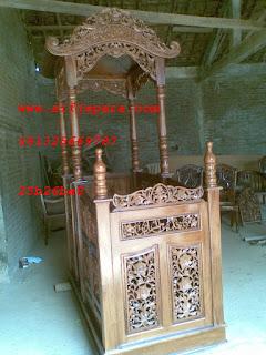 mimbar masjid ukir newsjepara
