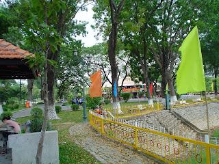 Piscina Parque Cidade de Ho Chi Minh (Vietnã)