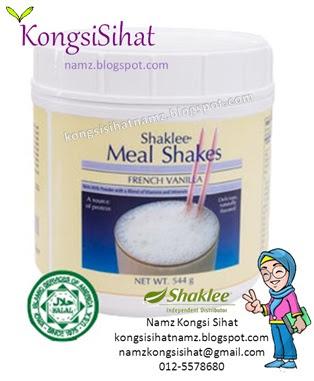 Kekal Sihat Dengan Meal Shakes