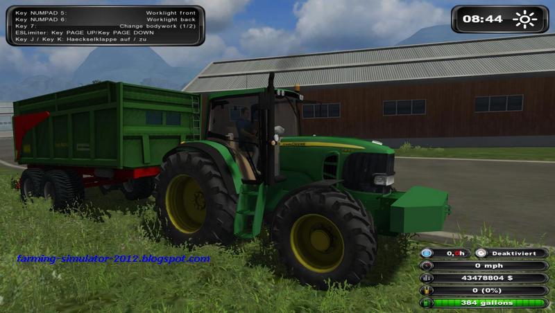 farming landwirtschafts simulator john deere 7430 premium. Black Bedroom Furniture Sets. Home Design Ideas