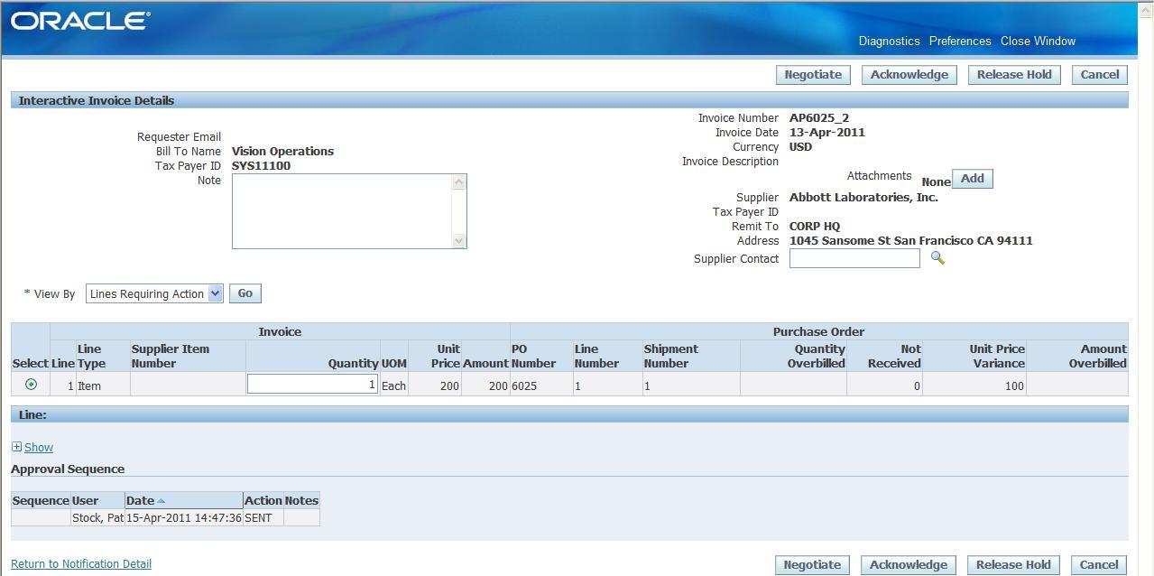 Krishanu Bose Oracle FAQ - Oracle r12 ap invoice approval workflow