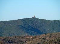 Zoom a la Torre del Moro de Castellnou de Bages