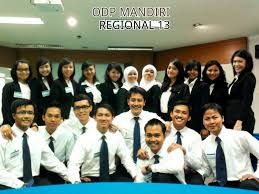 odp bank mandiri