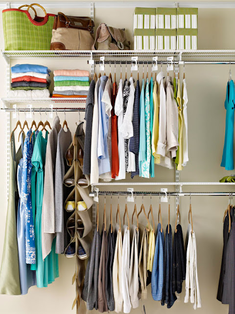 Easy organizing tips for closets 2013 ideas for Ideas to organize closets