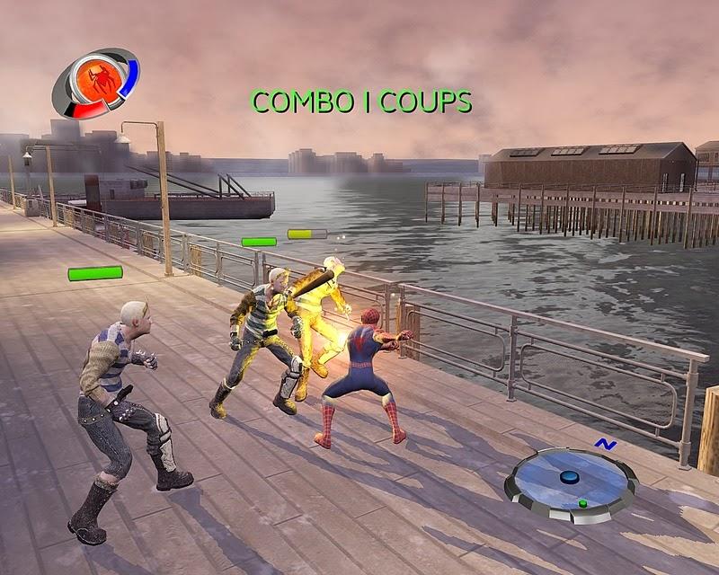 الجزء الثالث من لعبة المغامرات الرائعة سبايدر مان كاملة حصريا تحميل مباشر Spider+Man+3+1