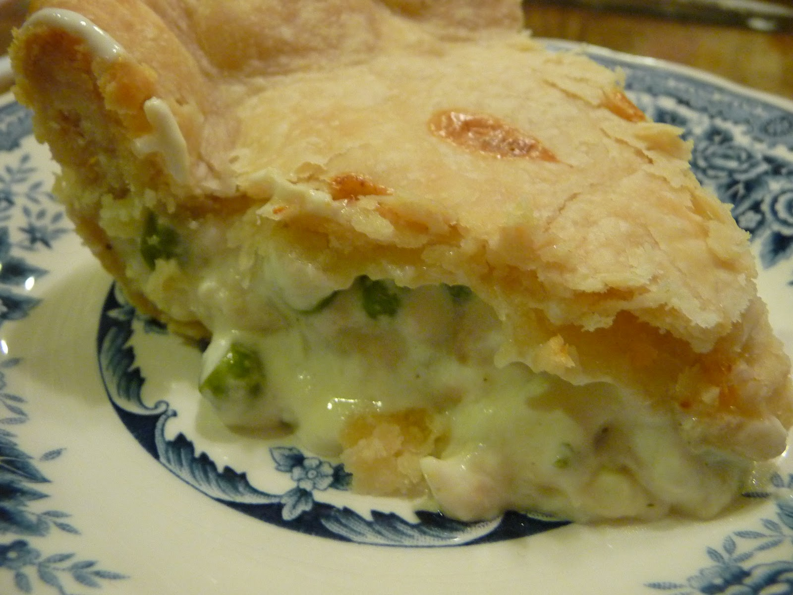 The Family Mixing Bowl: Creamy Chicken Pot Pie