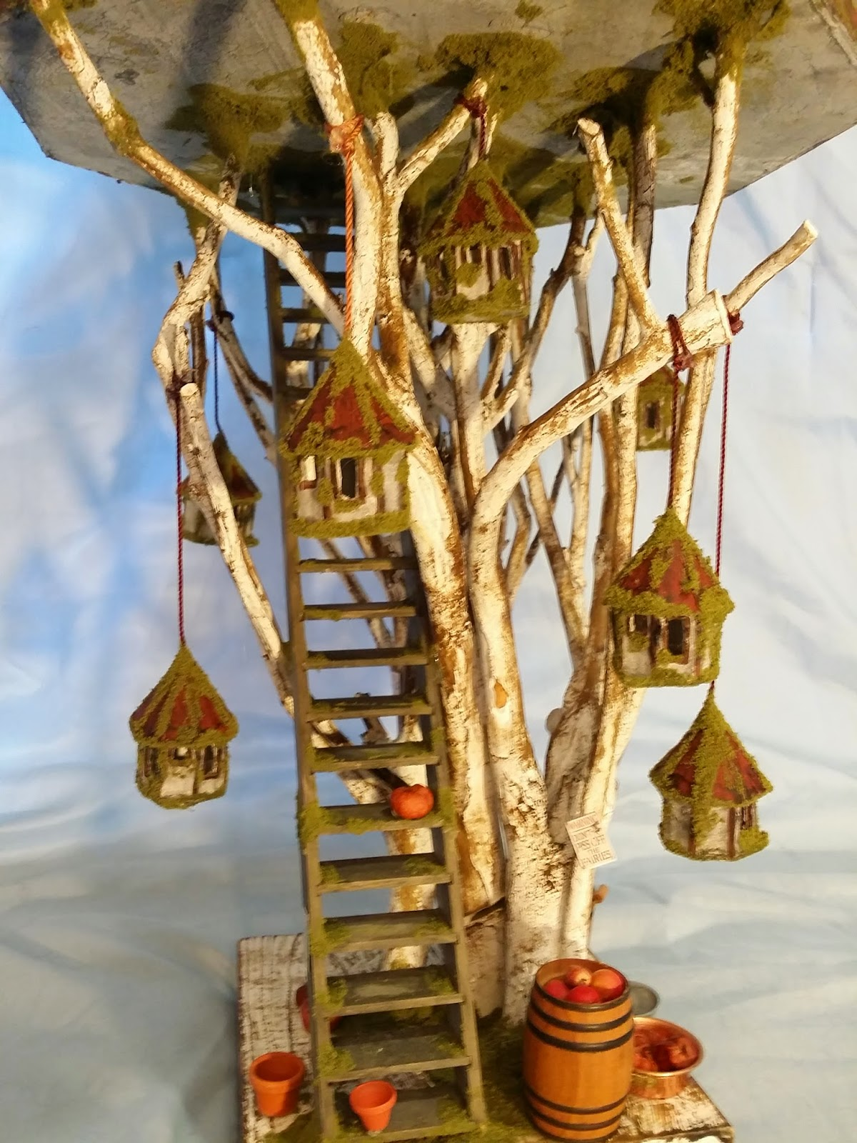 Miniature Tree House greggs miniature imaginations: fairy house