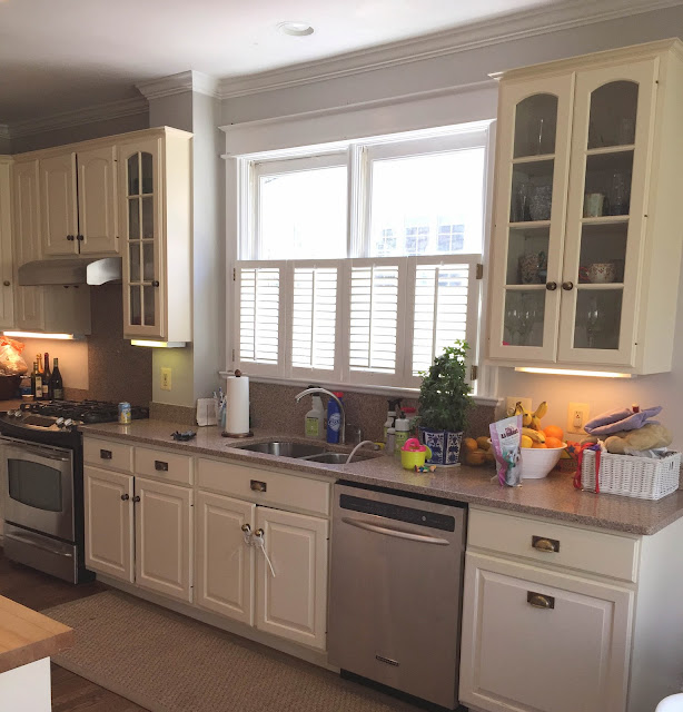 Kitchen Cabinet Uppers: Tone On Tone: A Kitchen Makeover