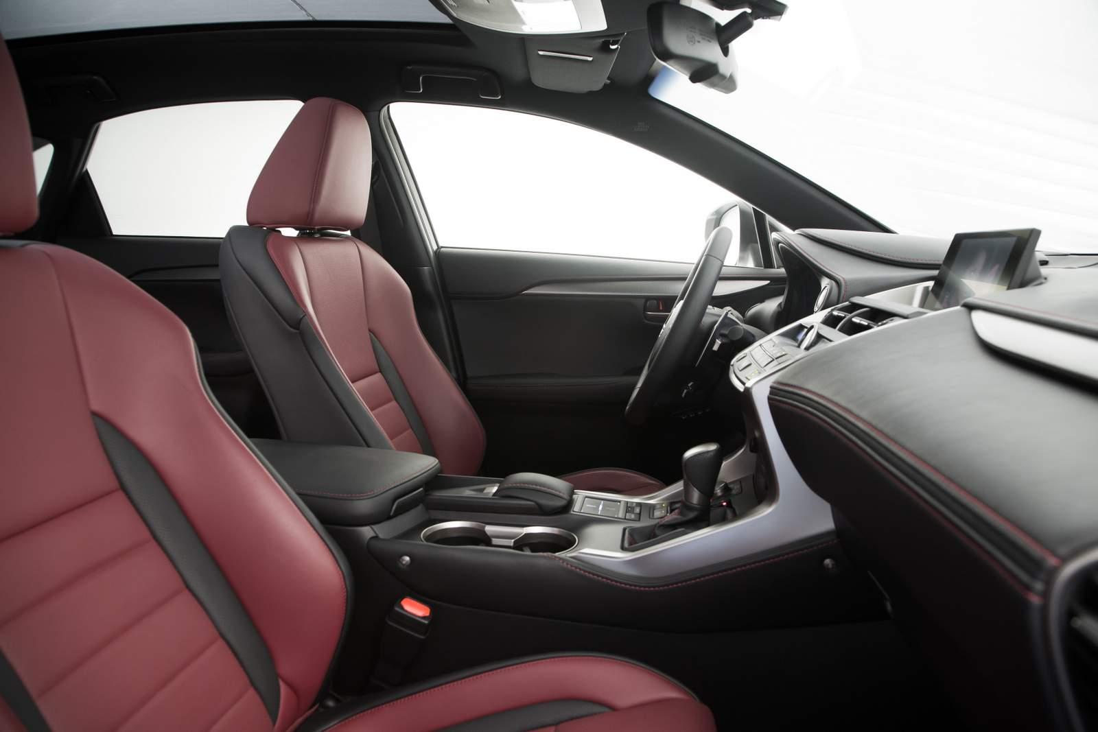 Lexus NX 200t F-Sport - interior