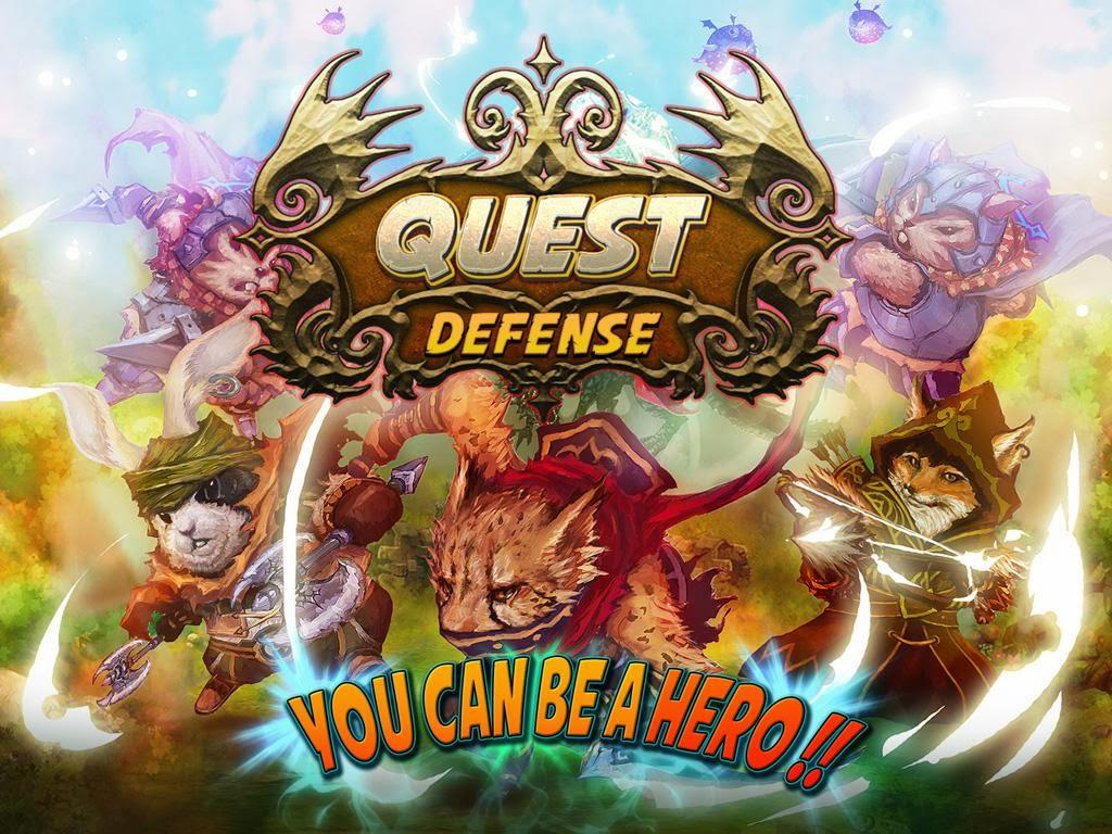 Quest Defense Tower Defense MOD APK Unlimited Golds