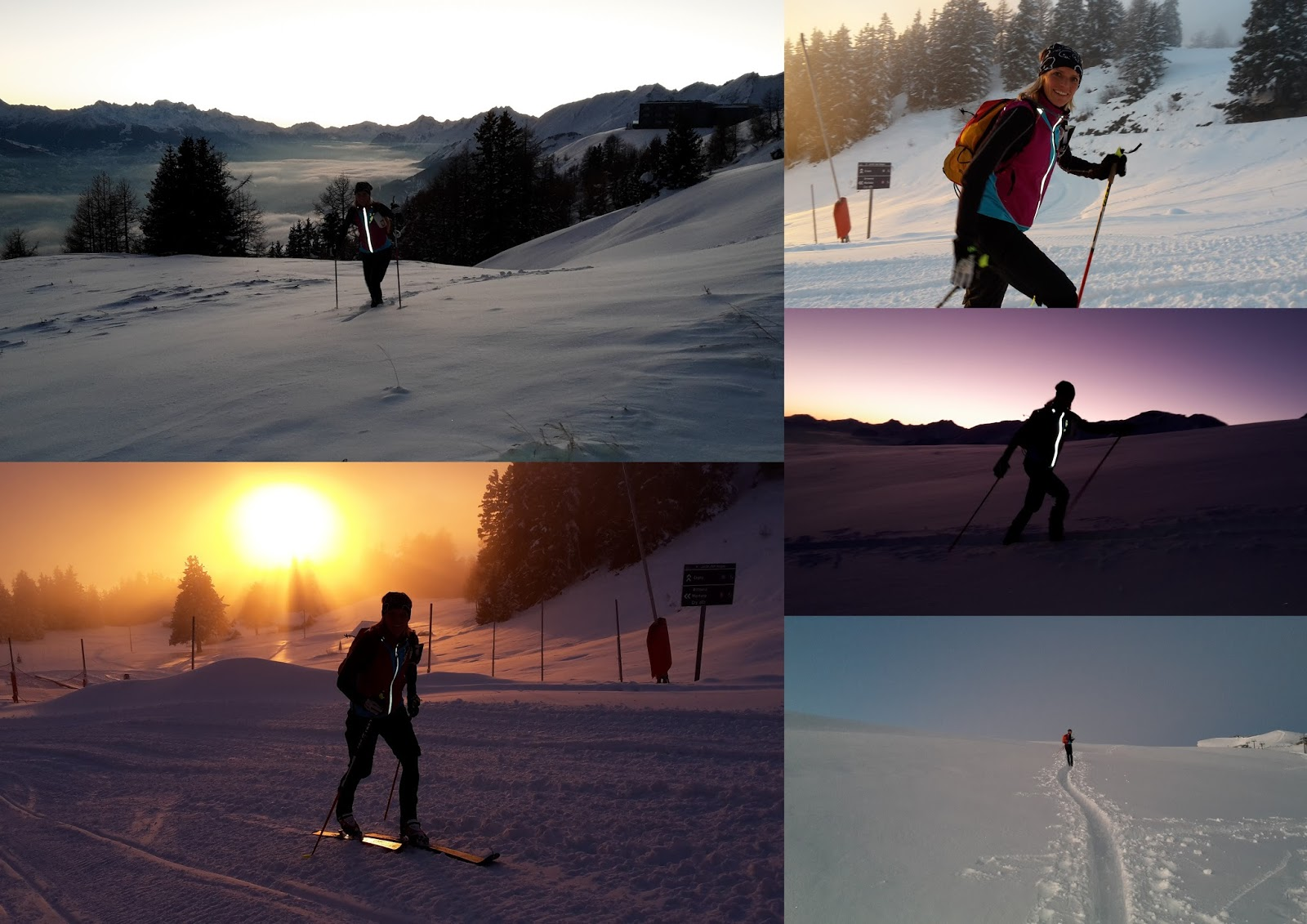 entrainement ski rando