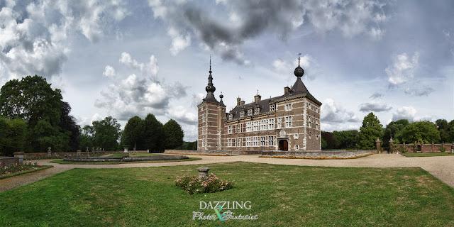 panorama van kasteel Eijsden