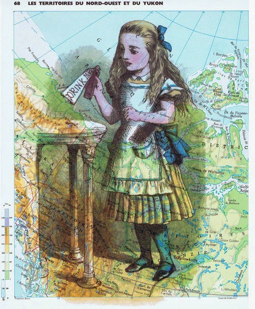 12-Alice-in-Wonderland-Drink-Me-on-Map-Jackie-Bassett-studioflowerpower--www-designstack-co