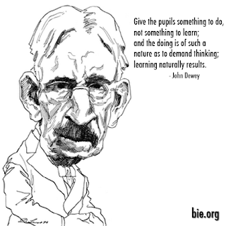 A quote from John Dewey