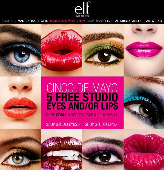 Eyes lips face coupon code
