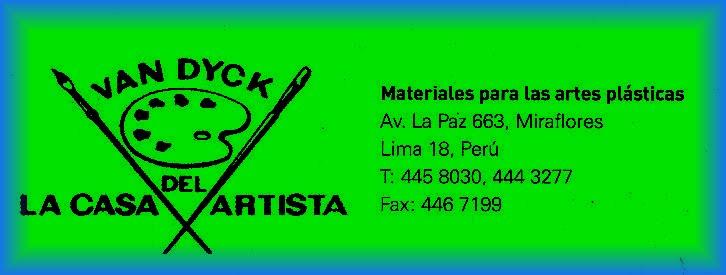 VAN DYCK - LA CASA DEL ARTISTA
