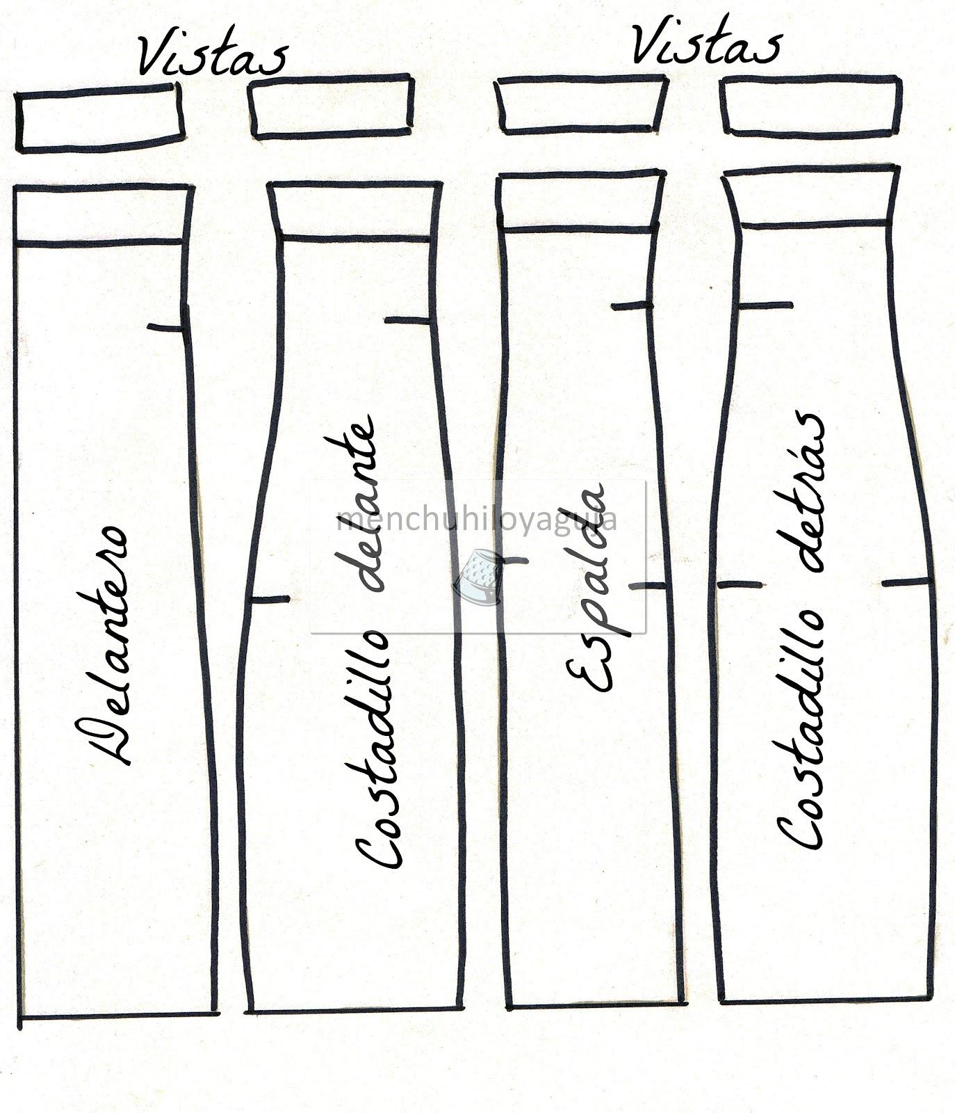 Patrones de Costura: CÓMO HACER UNA FALDA TUBO O LÁPIZ