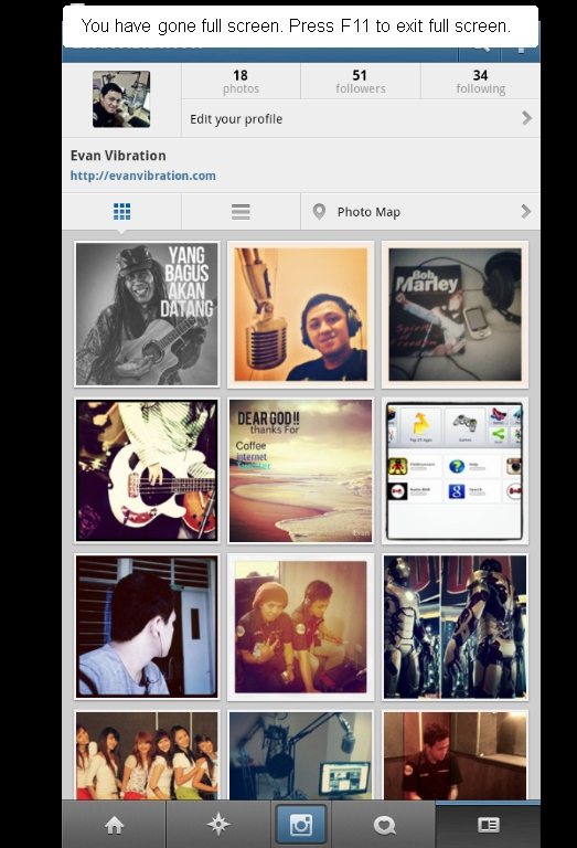 ama Iphone Bisa Upload Foto Ke Instagram ? Terlalu ( Update 2013
