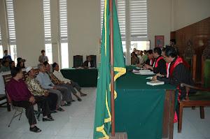 persidangan di PN Jember.