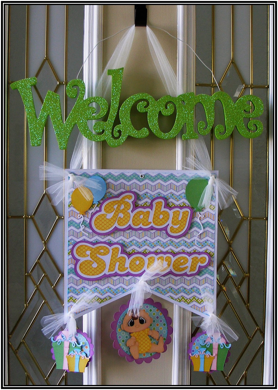 Baby shower door decoration for Baby shower door decoration