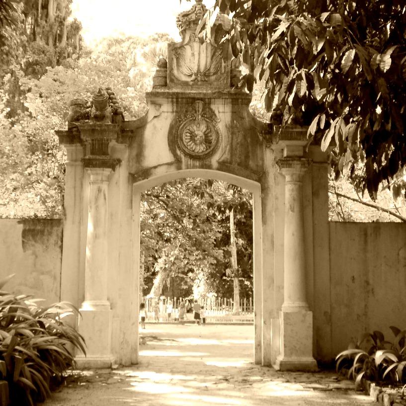 ipe de jardim botânico:Fábrica de Pólvora e Bromeliário do Jardim Botânico do Rio de