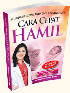 Harga buku cara cepat hamil dari dr Rosdiana Ramli