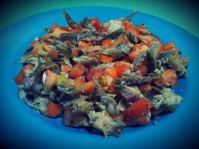 Quick Meals : Sinasa and Egg drop Vegetable Misua