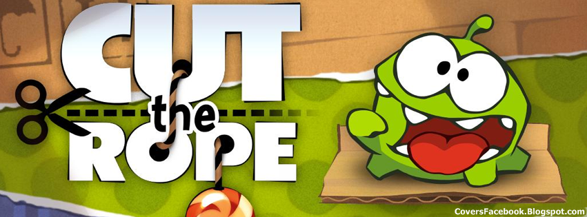 Cut the Rope Game Cute Timeline Cover