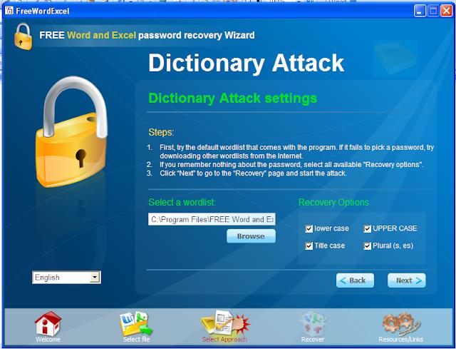 khôi phục mật khẩu word và excel 4