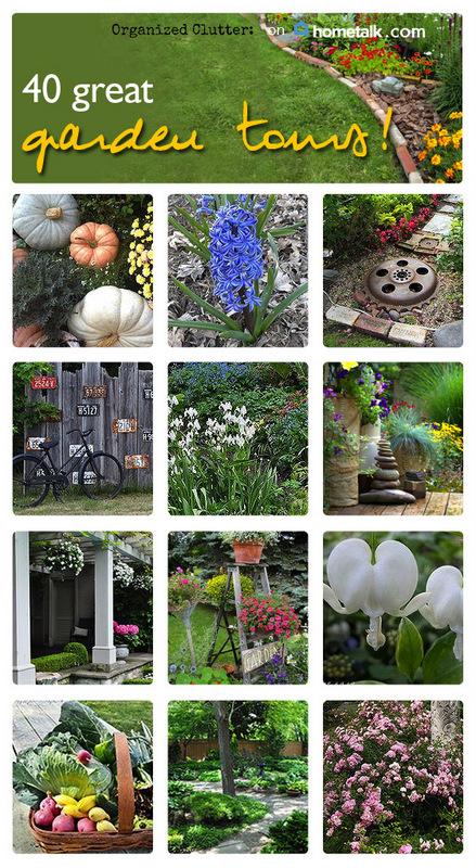 Hometalk Garden Tour Clipboard www.organizedclutterqueen.blogspot.com
