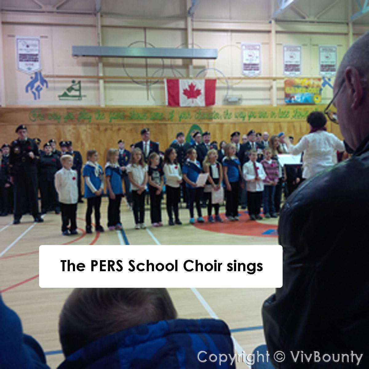 Port Elgin Regional School Choir, VivBounty
