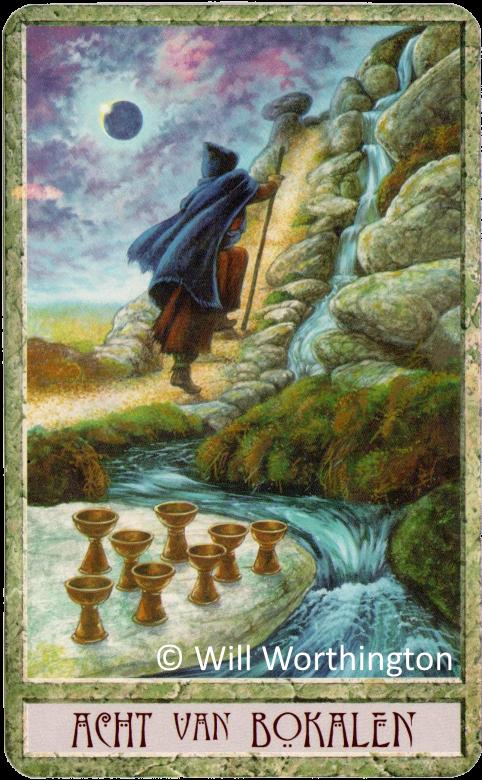 Druidcraft Eight of Cups Will Worthington