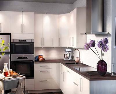 Decoración de interiores: cocinas pequeñas y modernas