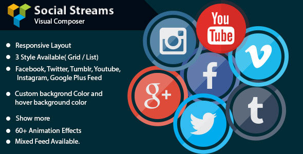Visual Composer – Social Streams