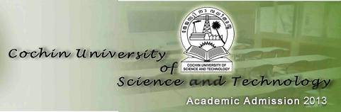 Cochin University CUSAT CAT Admit Card Download 2013