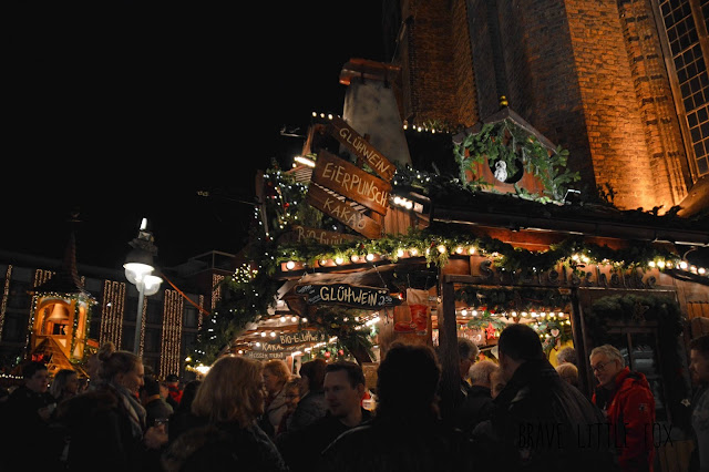 Glühweinstand Weihnachtsmarkt Hannover
