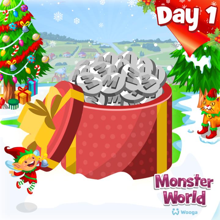 Cadeau gratuit le d compte des jours avant no l a commenc monster world french - Combien de jours avant noel ...
