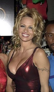 Pamela Anderson Tattoos - Celebrity Tattoo Design Ideas