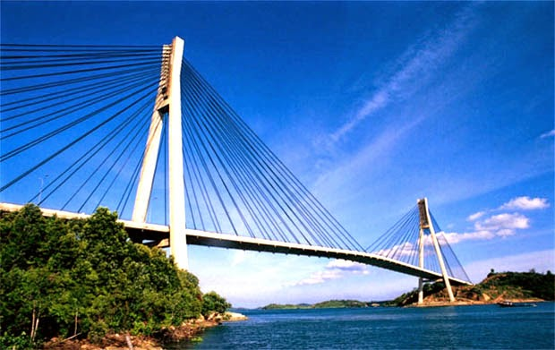 Gambar Jembatan Balerang