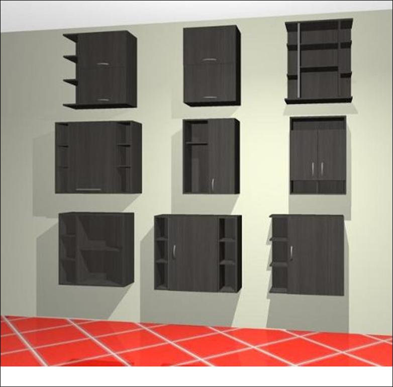 Puertas De Baño Puerto Ordaz:Mubles Para Baños, Modulos Aéreos P/ Baño – Gabinetes – Bolívar