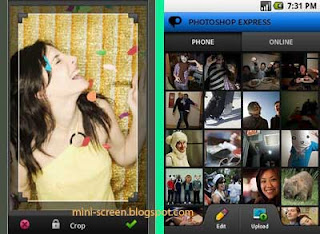 Free Adobe Photoshop Express for Android: An Interface