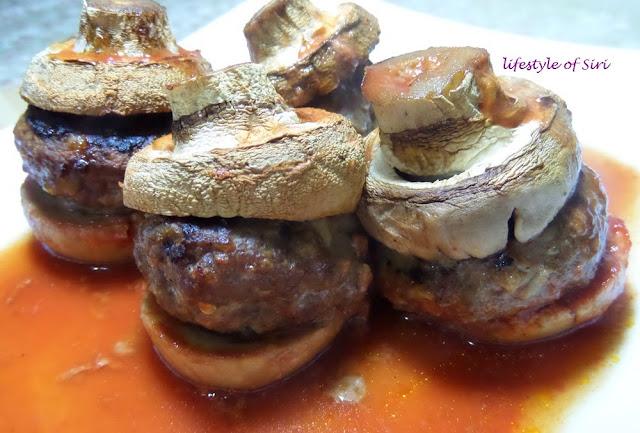Mantar Kebabı- Köfteli Mantar