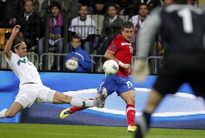 Slovenia 1 - 0 Serbia