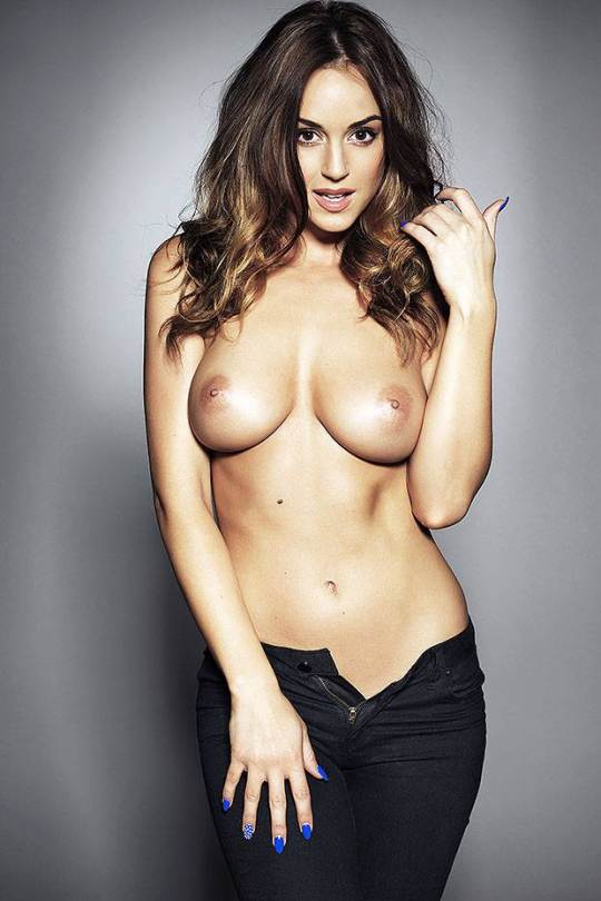 "Rosie Jones – ""Page 3″ Topless Photoshoot (NSFW)"