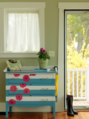 DIY NETWORK Painted Dresser