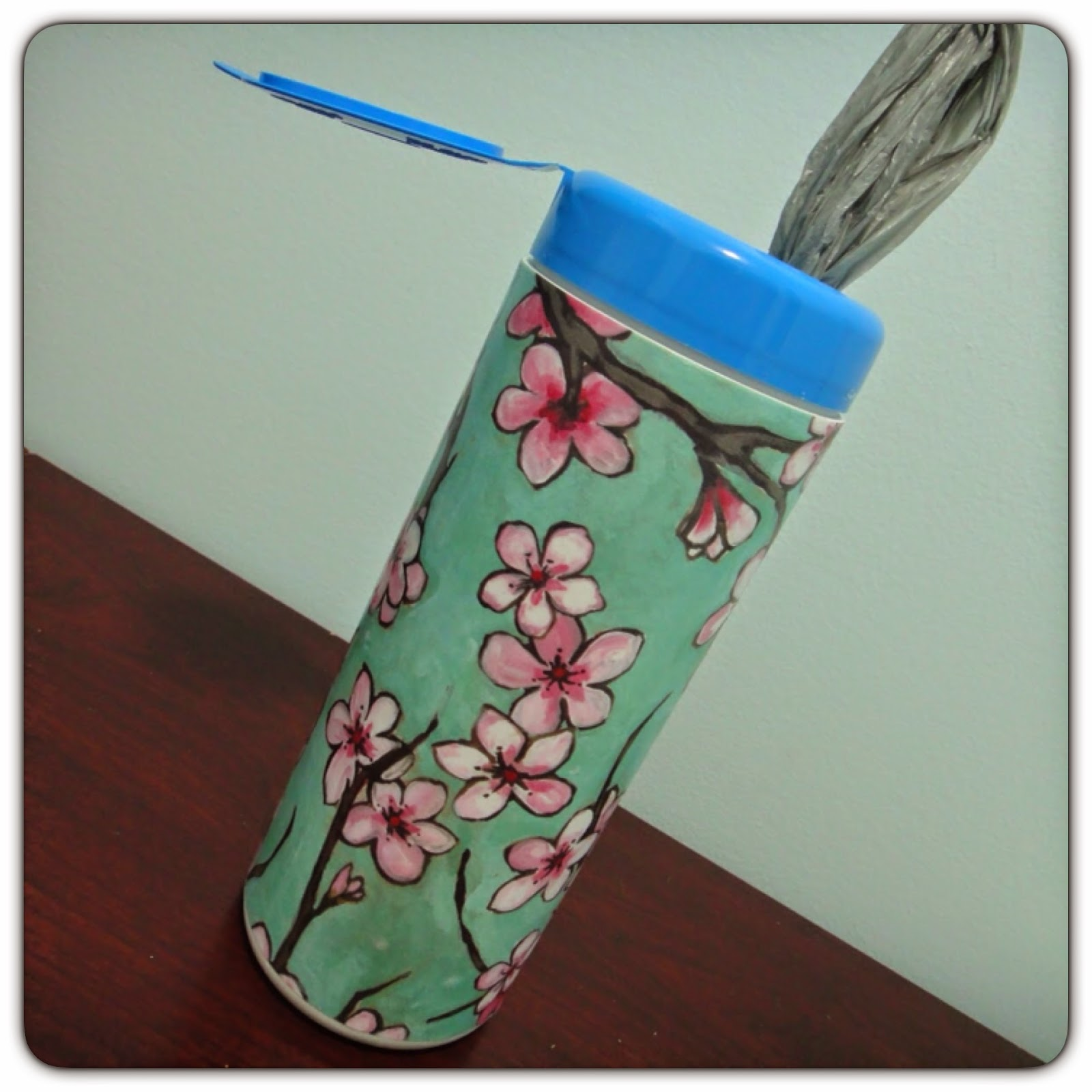 upcycle clorox wipes container