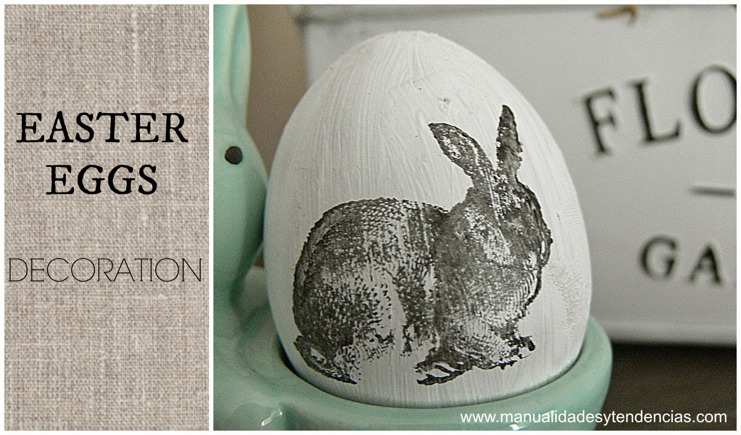 Easter eggs decoration tutorial