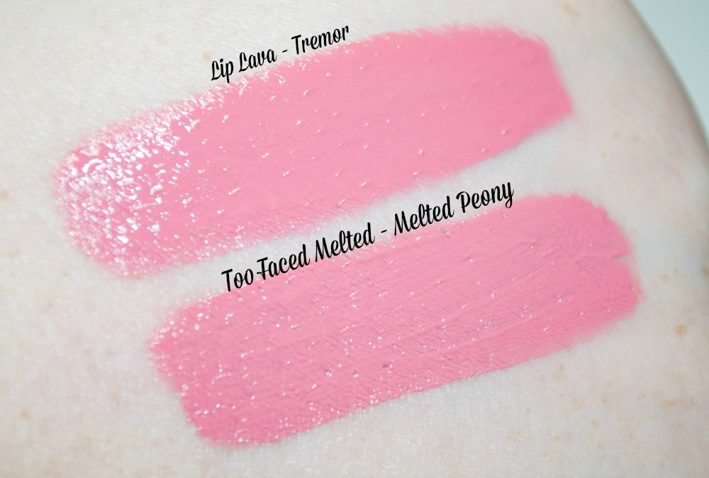 Makeup Revolution I ♡ Makeup Lip Lava's - the £2.99 Too Faced Melted Dupes